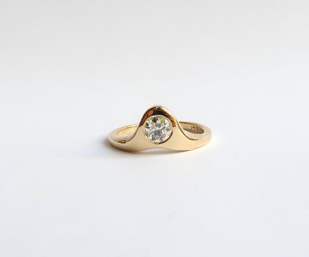 Nishi Bezel Set Diamond Ring