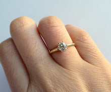 Load image into Gallery viewer, Old European Cut Diamond Crown Ring