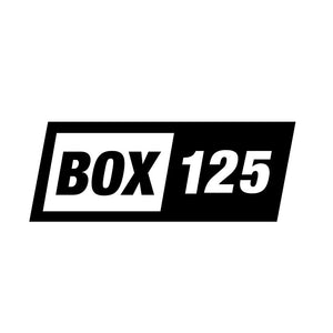 Box 125 clothing company Box logo