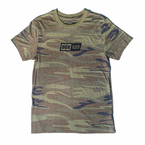 Soft BOX Logo Tee - Camo