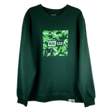 Within the Leaves Crewneck - Forest Green