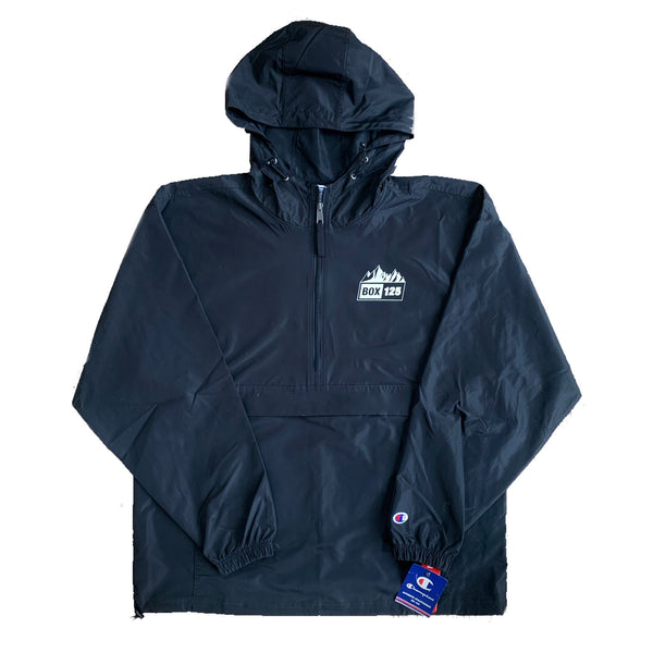 Explore More, Stress Less Champion Anorak - Black