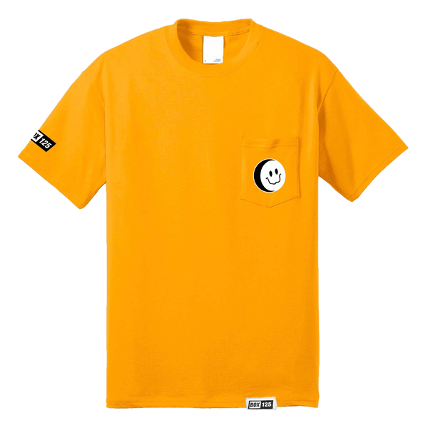 BOX OTF Smiley Pocket Tee - GOLD