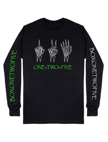 BOXONETWOFIVE Sign Language L/S Tee