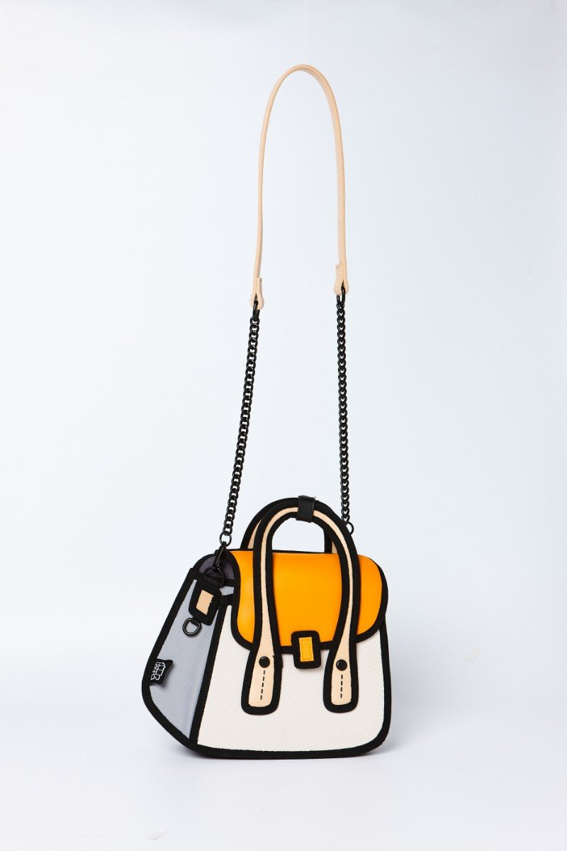 JumpFromPaper - OWL Shoulder Bag - orange
