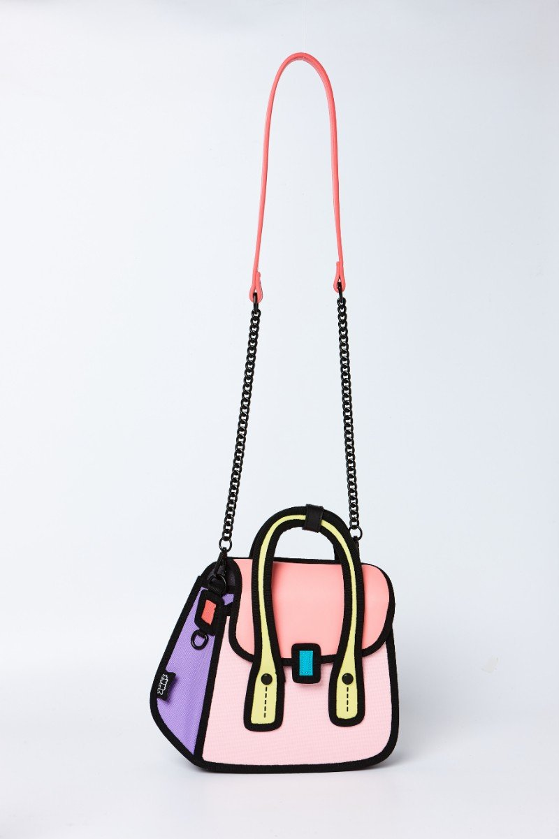 JumpFromPaper - OWL Shoulder Bag - pink