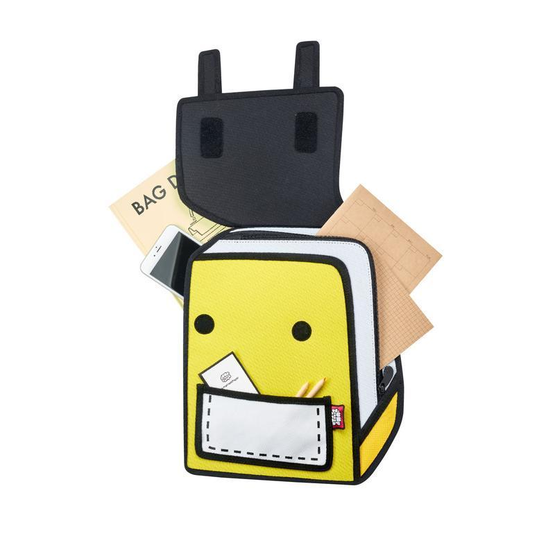 JumpFromPaper - SPACEMAN JR. Backpack - yellow