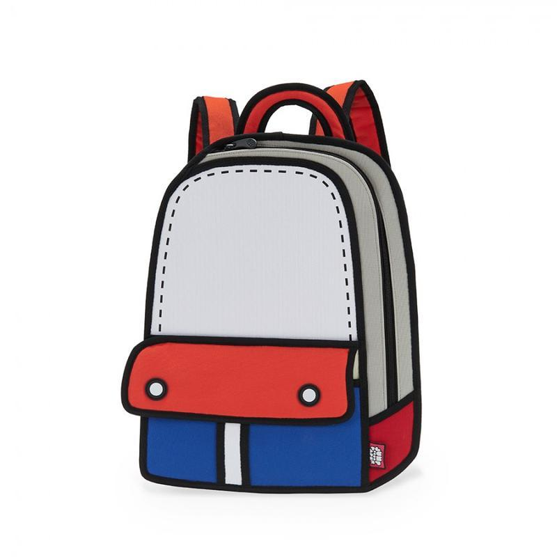JumpFromPaper - ADVENTURE Backpack - red/blue
