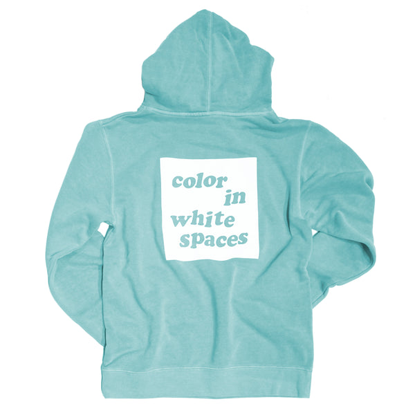 Color in White Spaces - Mint