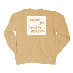 Color in White Spaces - Sandstone
