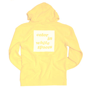 Color in White Spaces - Yellow