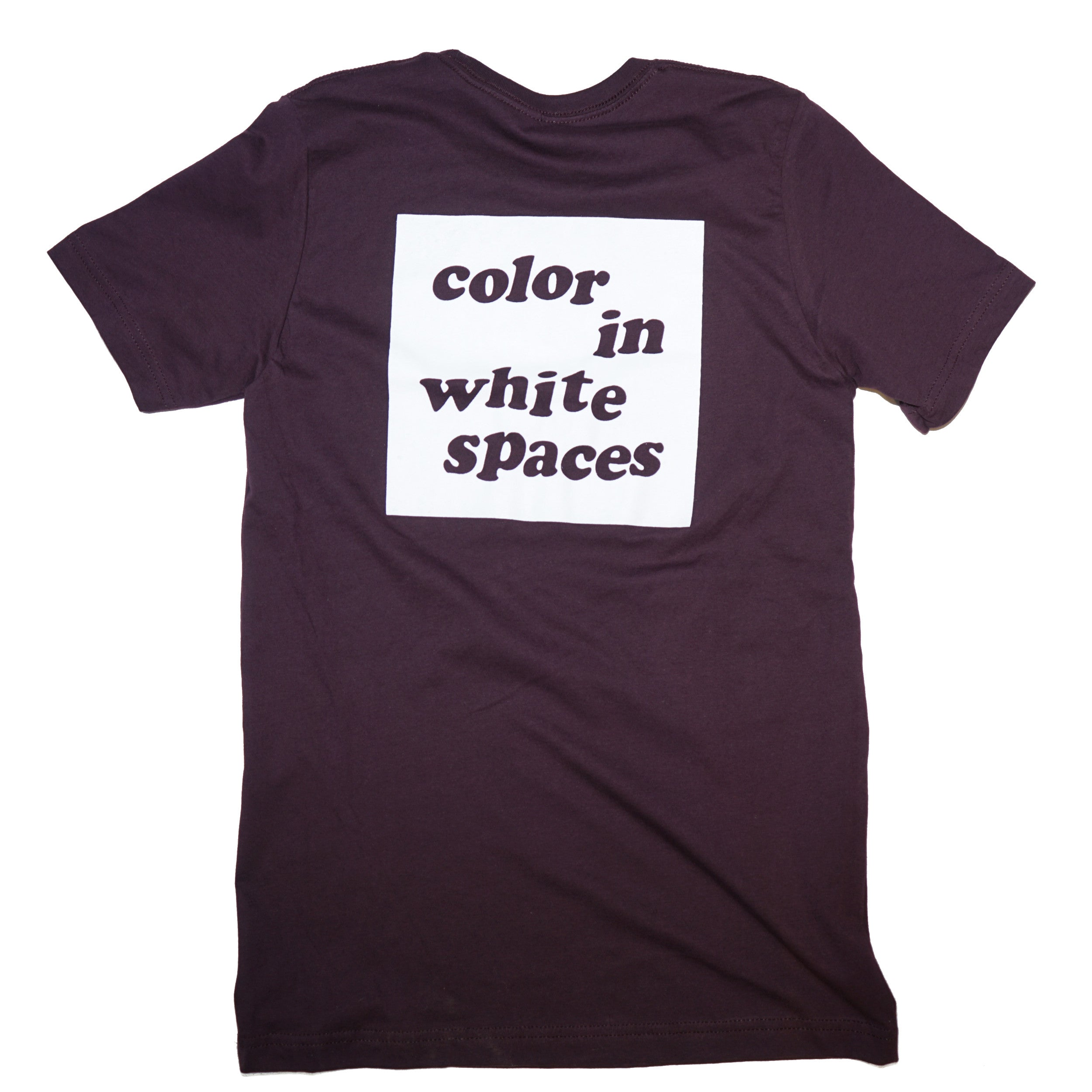 Color In White Spaces - Oxblood