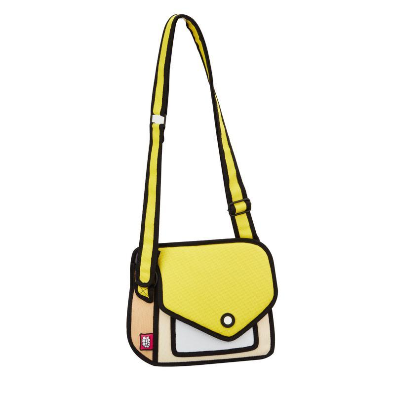 JumpFromPaper - GIGGLE Shoulder Bag - yellow