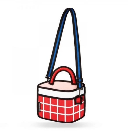 JumpFromPaper - CHECKERED Handbag
