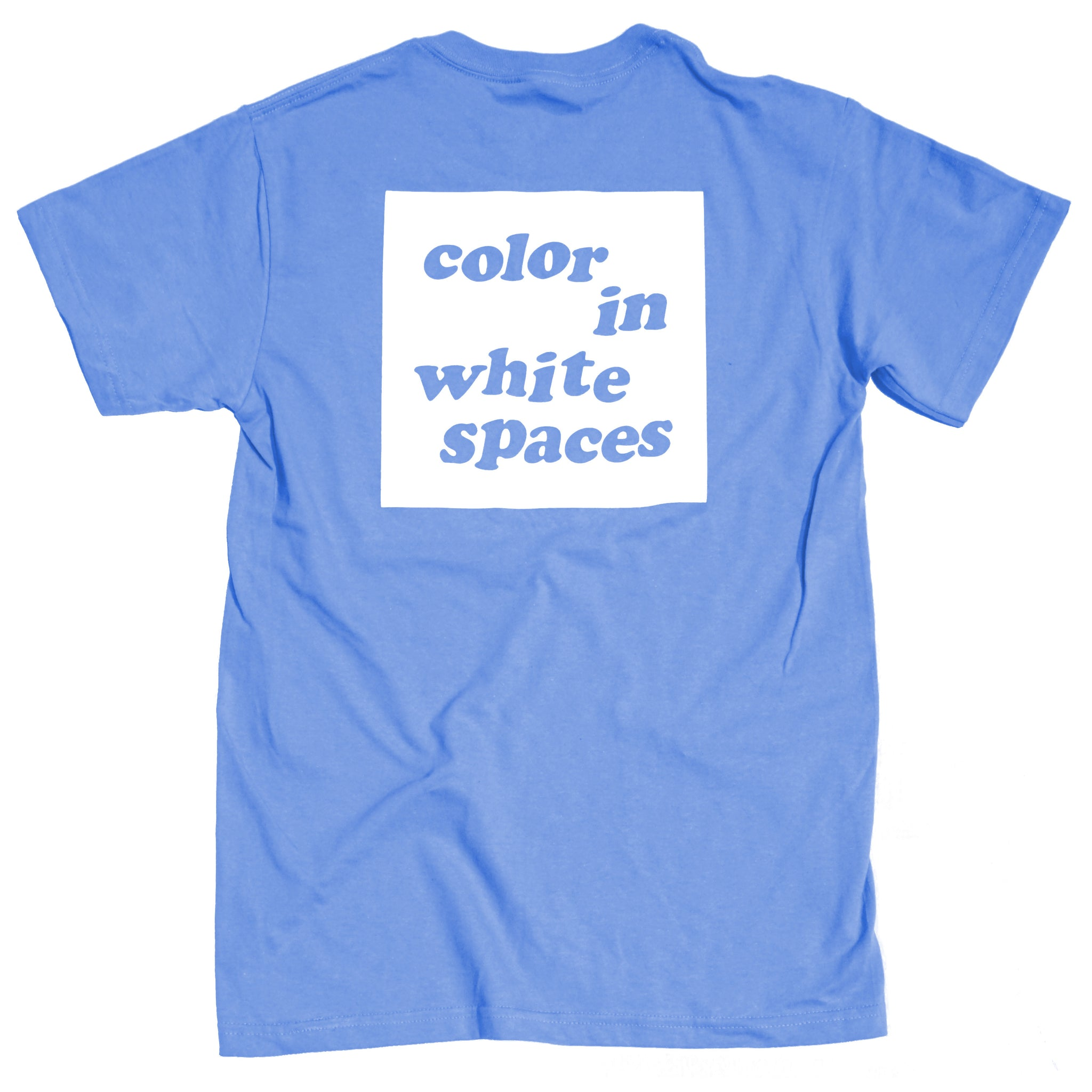 Color in White Spaces -  Blue