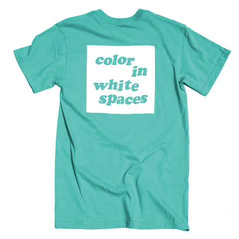 Color in White Spaces - Seafoam