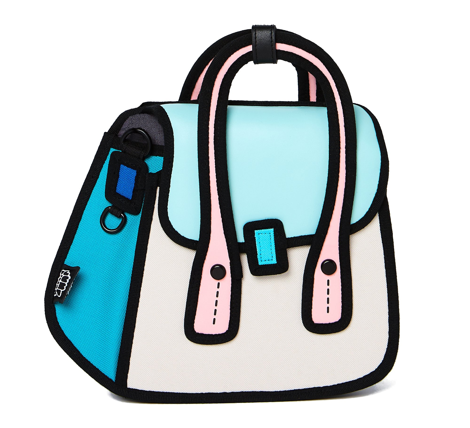 JumpFromPaper - OWL Shoulder Bag - light blue