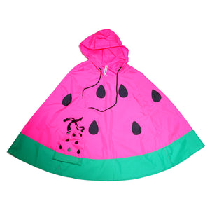 Open image in slideshow, Kid-Sized Watermelon Poncho