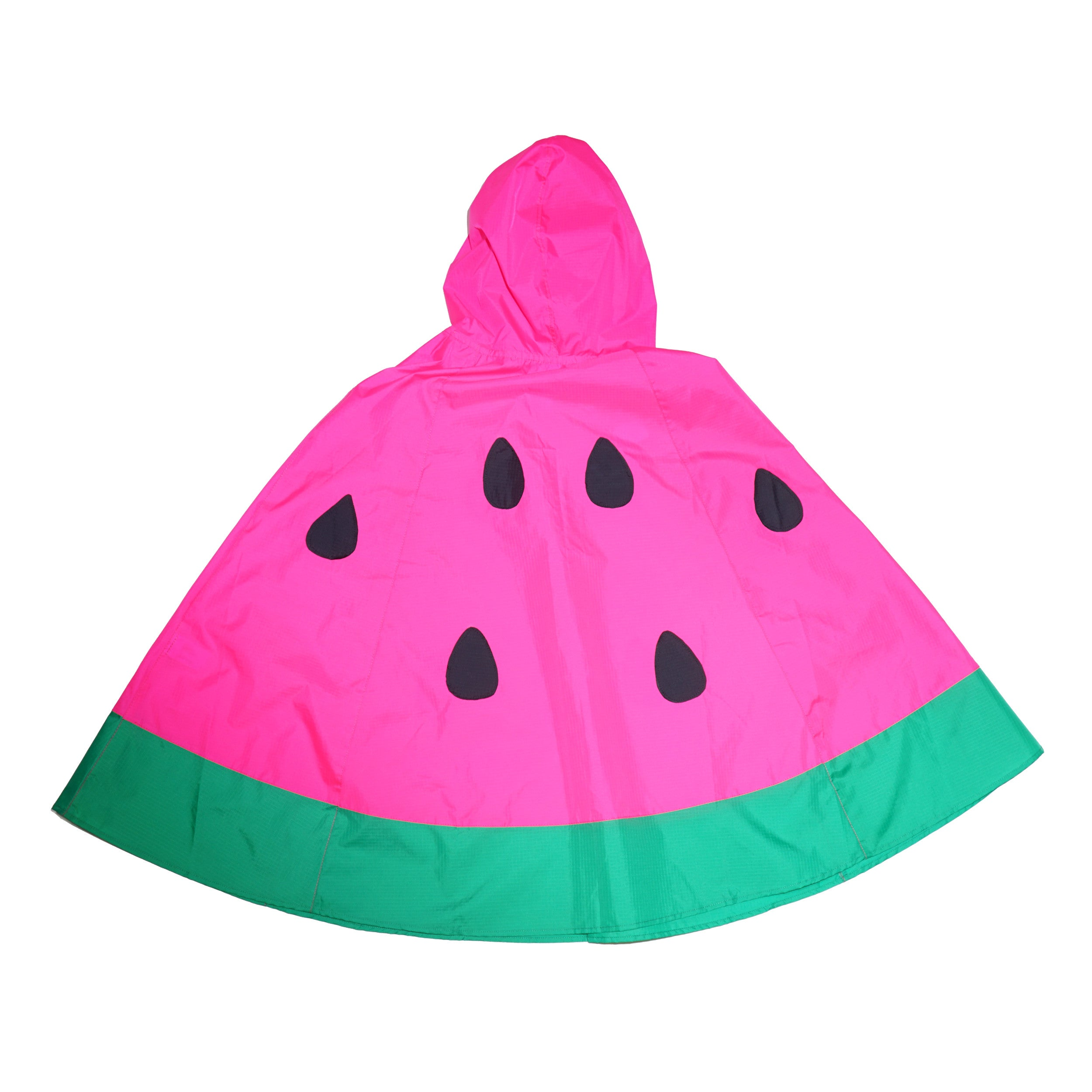 Kid-Sized Watermelon Poncho