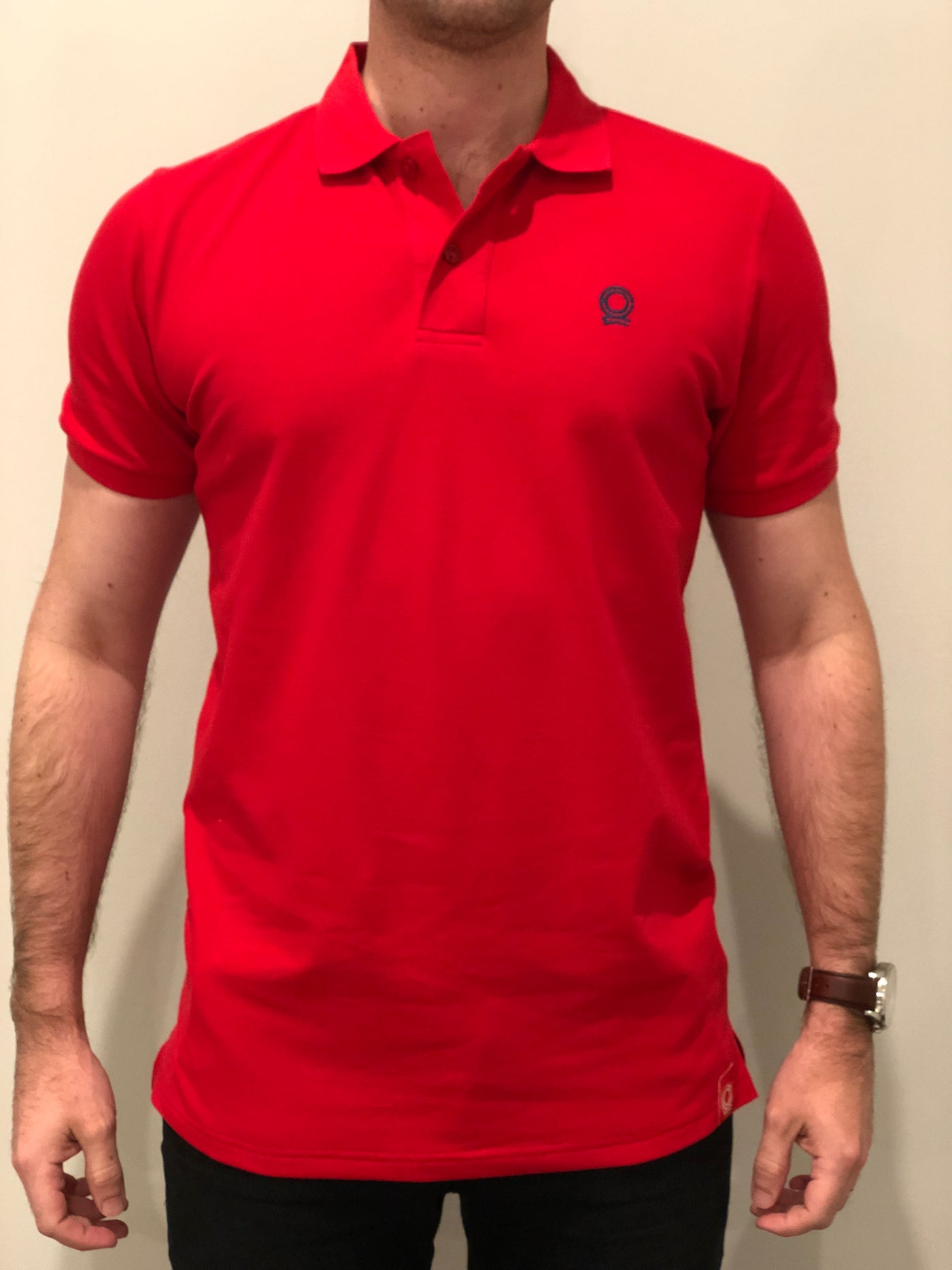 Men's Polo Shirt - Nautical Red