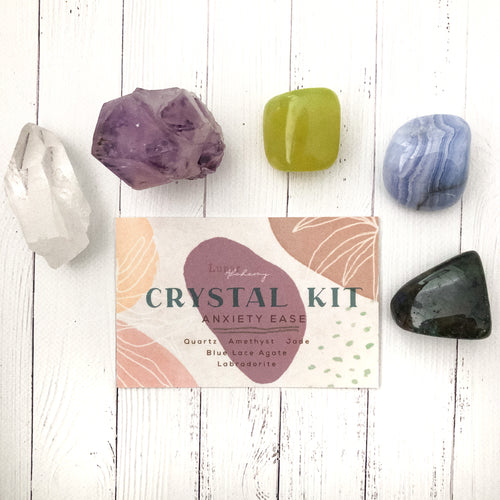 Anxiety Ease Crystal Kit