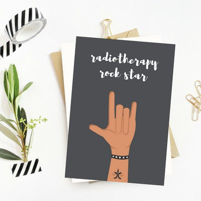 radiotherapy greeting card