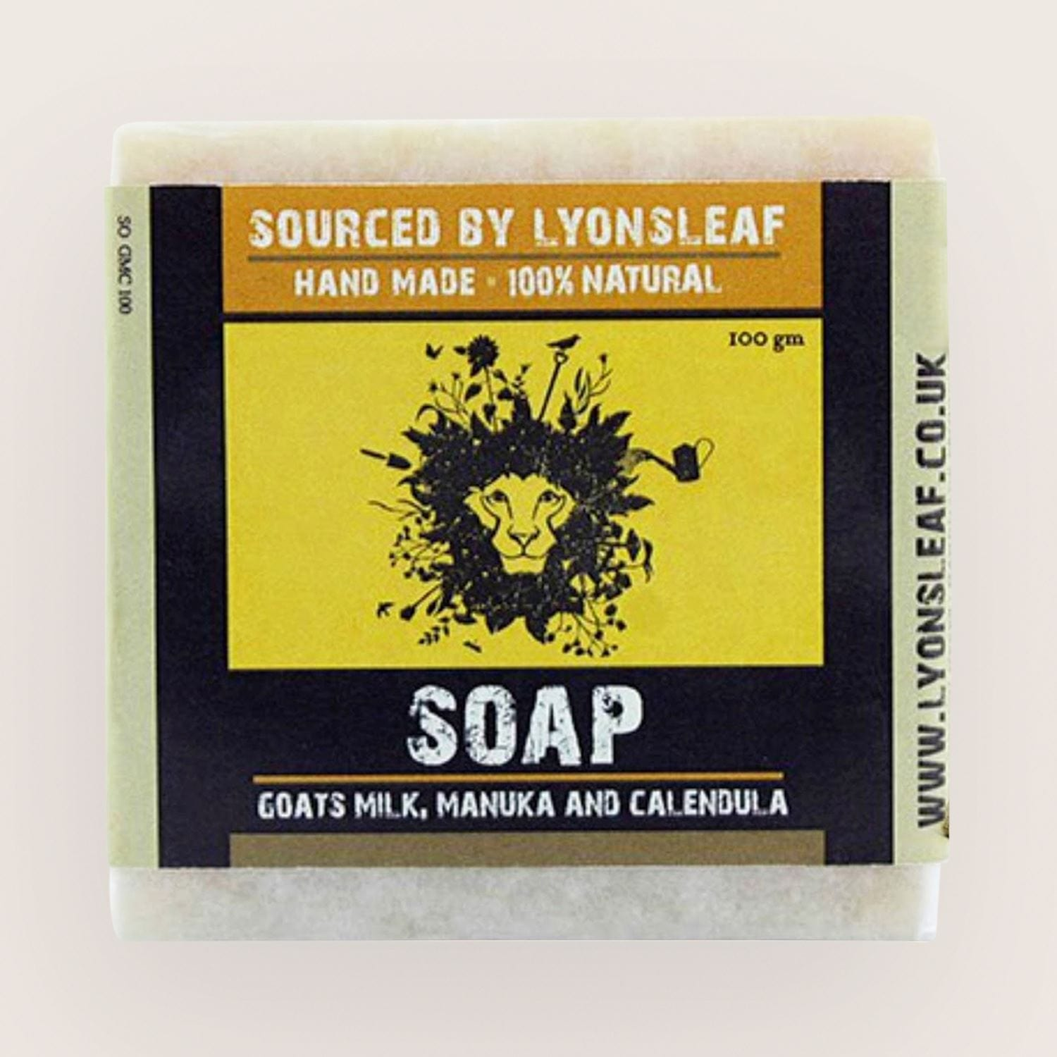 Lyonsleaf Natural Calendula Soap 100g