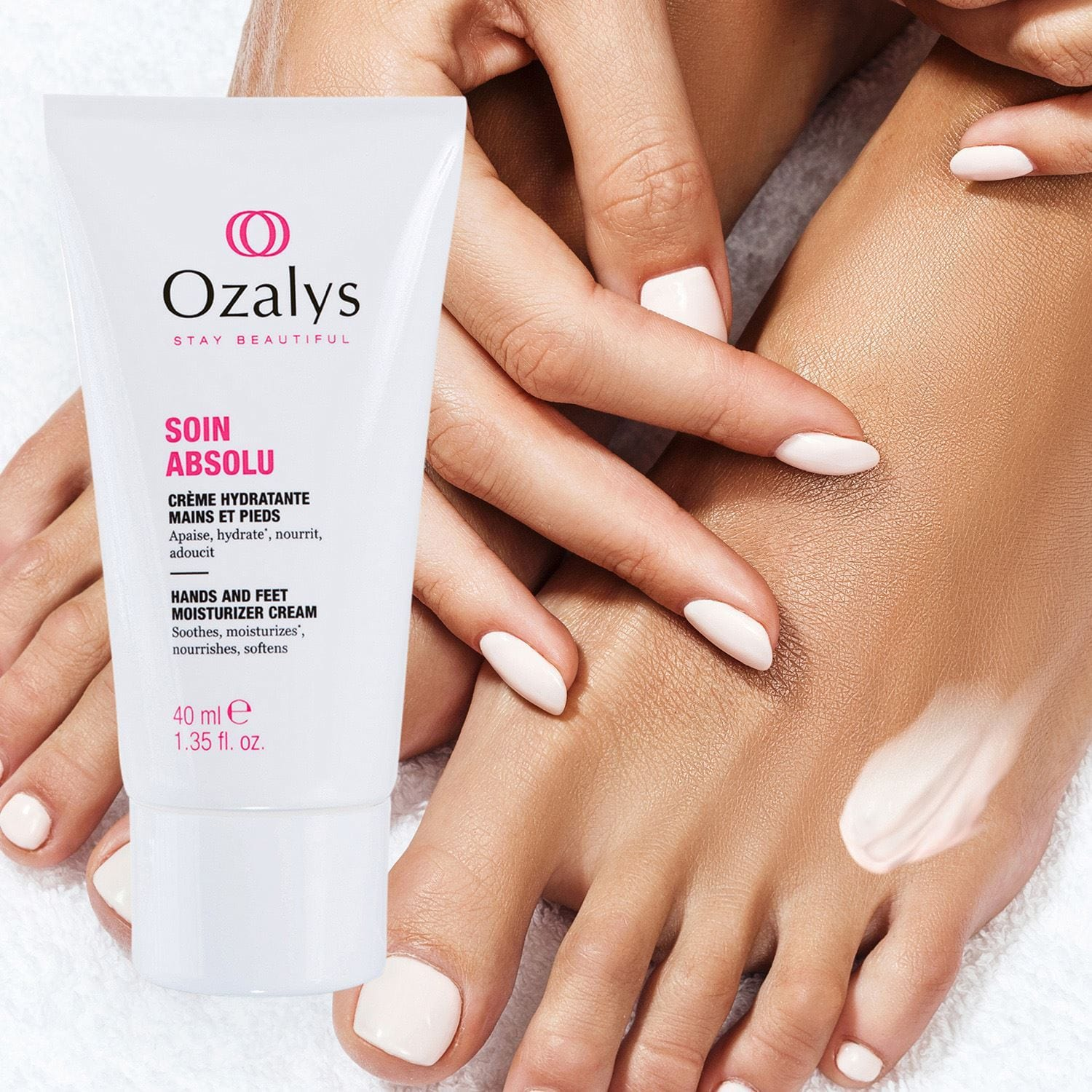 Ozalys Absolute Care Hand and Foot Moisturizing Cream 40ml