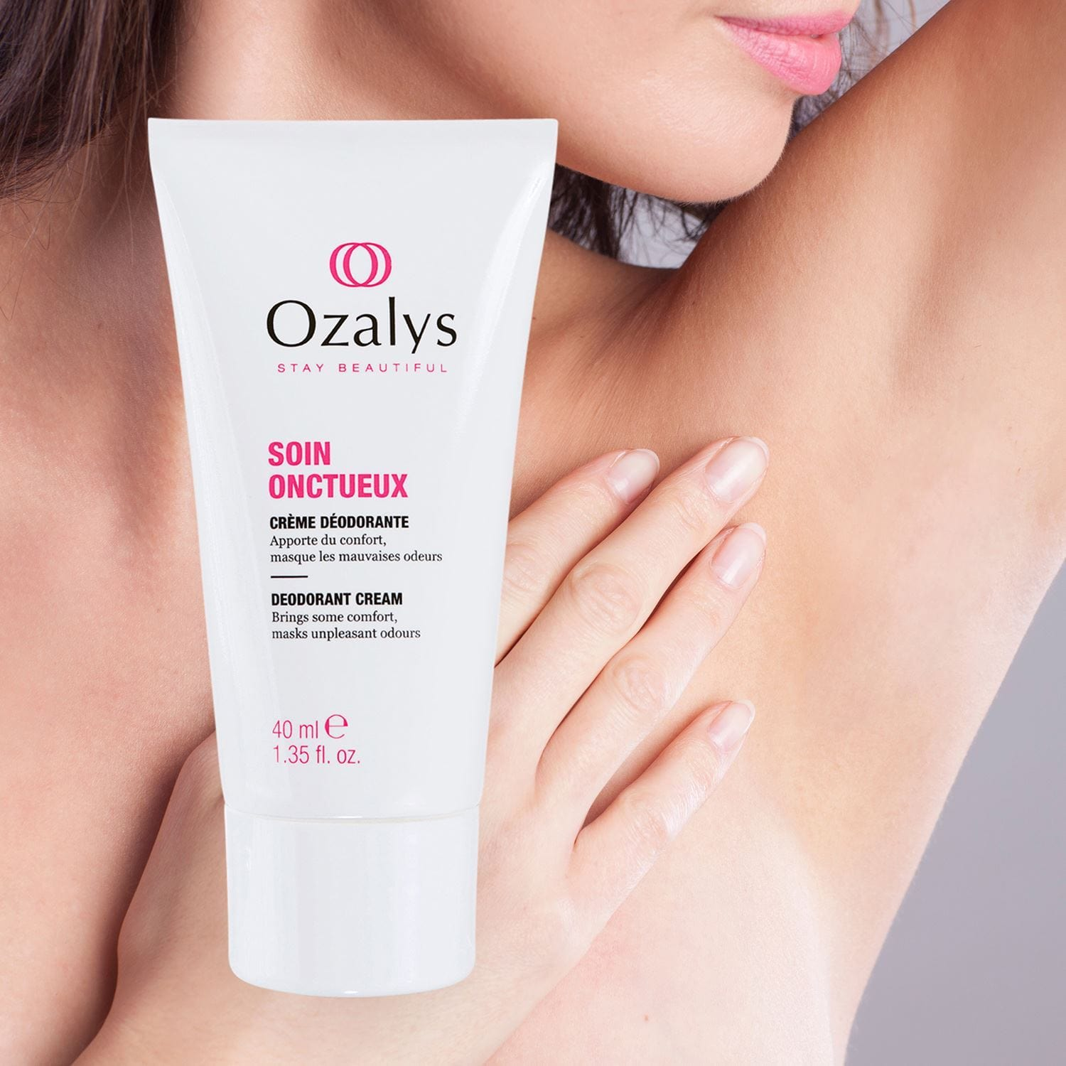 Ozalys Smoothing Care Deodorant Cream 40ml