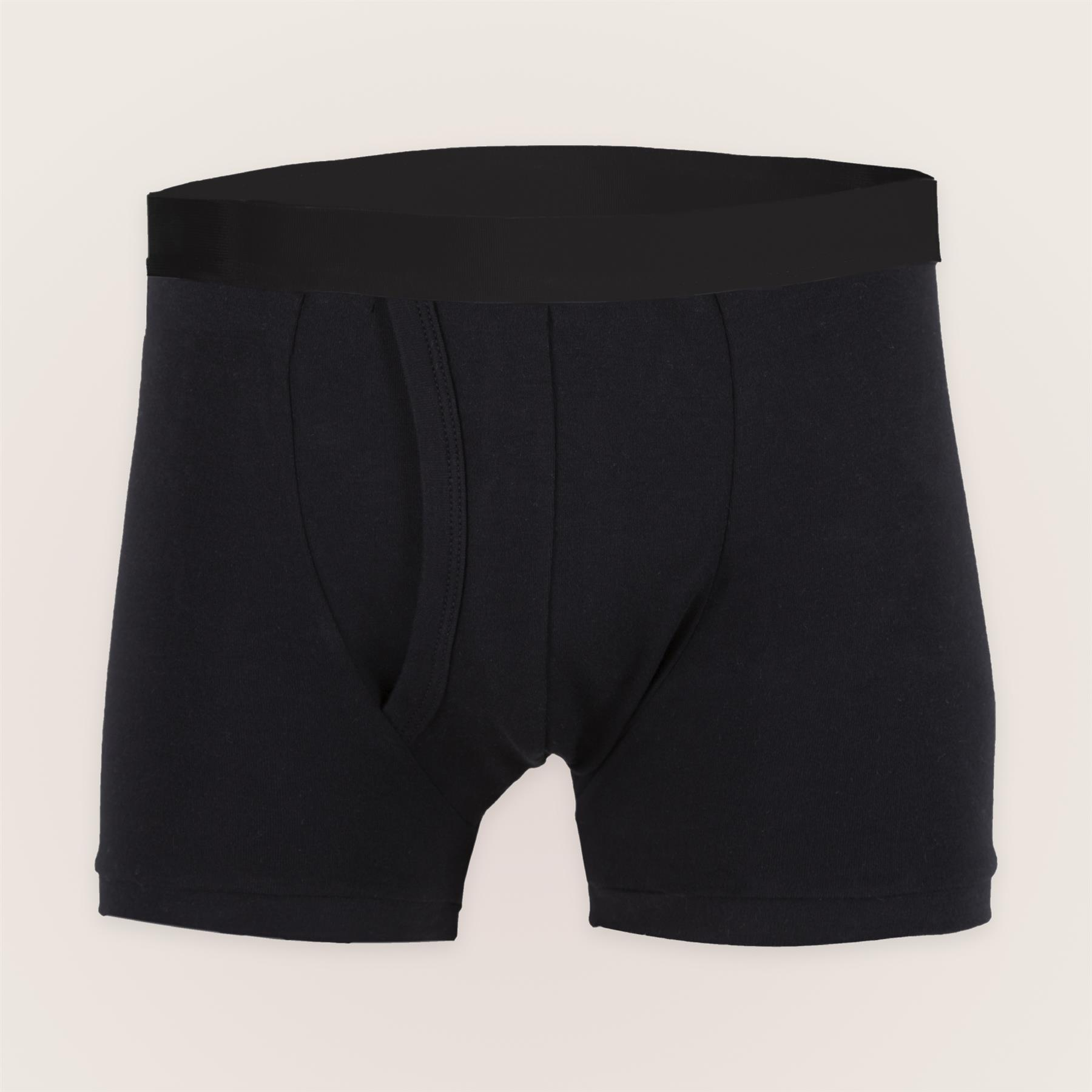 Inco-Elite Mens Washable Incontinence Trunks