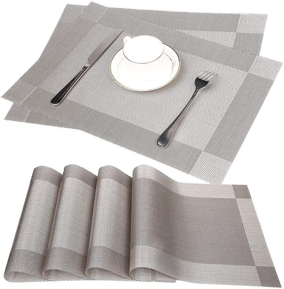 Non-Slip Table Setting Place Mats