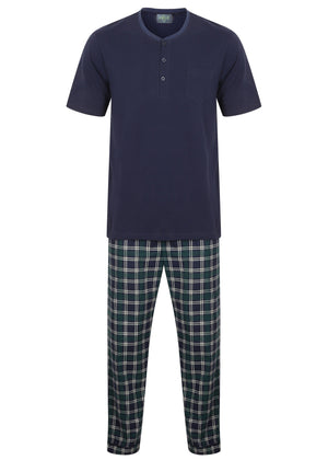 The Able Label David Pure Cotton Velcro T-Shirt & Pull On Bottoms PJ Set