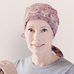 Chemo Headwear Alice Liberty Cord Headscarf