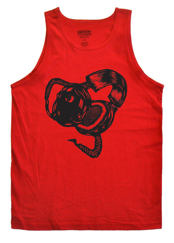 Old School Headphones Tank