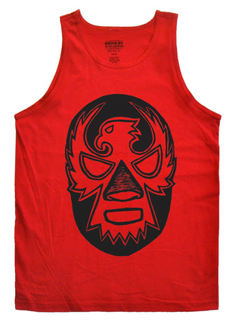 Luchador Mask Tank - Red