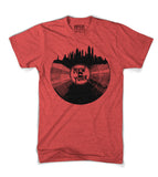 New York City Sklyline Record Tee