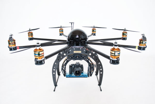 SkyJib-8 - Ready for RED!  RTF, Droidworx, AV200, Photohigher