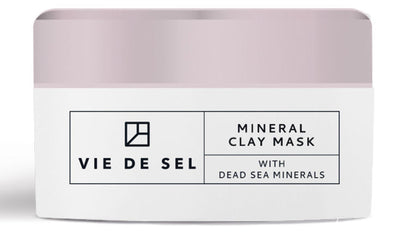 VIE DE SEL Mineral Clay Mask With Dead Sea Minerals