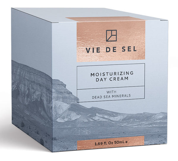 VIE DE SEL Moisturizing Day Cream With Dead Sea Minerals