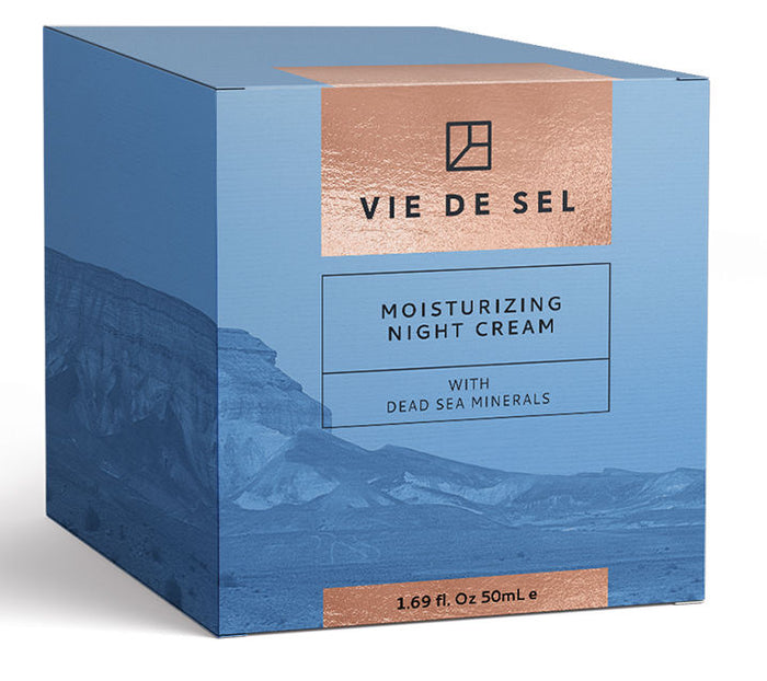 VIE DE SEL Moisturizing Night Cream With Dead Sea Minerals