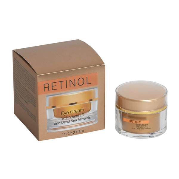 RETINOL Eye Cream With Vitamin E and Dead Sea Minerals