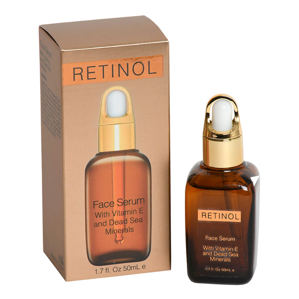 RETINOL Face Serum With Vitamin E and Dead Sea Minerals