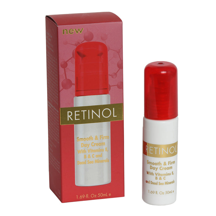 RETINOL Smooth & Firm Day Cream+ Night Cream With Vitamin E and Dead Sea Minerals 2-STEP SET