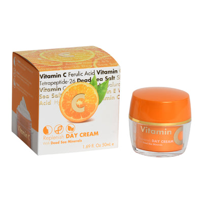 Vitamin C Replenish DAY CREAM  With Dead Sea Minerals