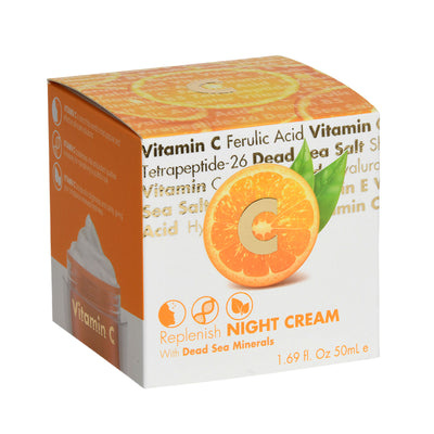 Vitamin C Replenish NIGHT CREAM  With Dead Sea Minerals