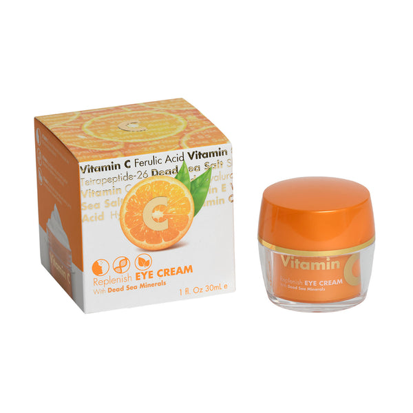 Vitamin C Replenish EYE CREAM  With Dead Sea Minerals