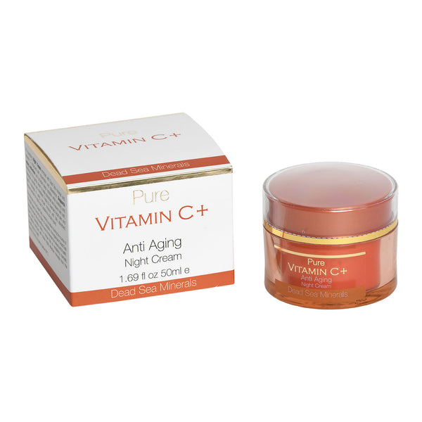 Pure Vitamin C+ Anti Aging Night Cream Dead Sea Minerals