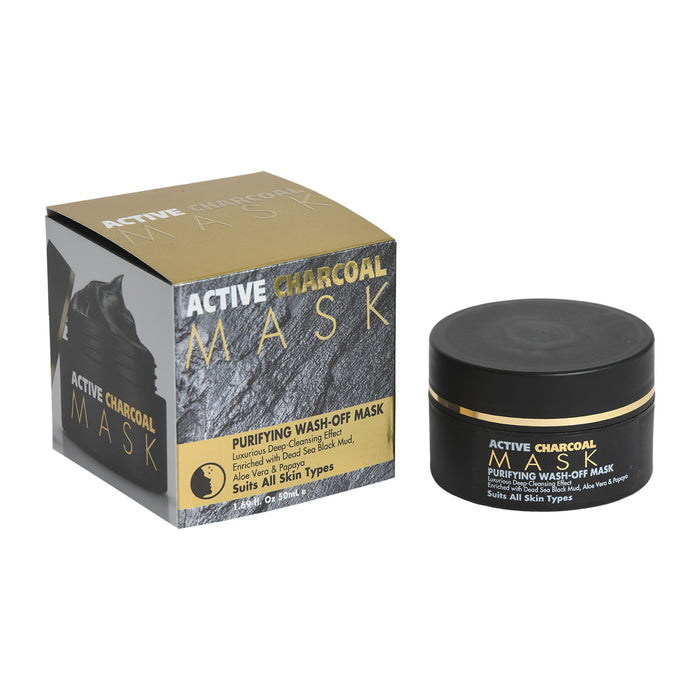 Active  Charcoal Mask Purifying Wash-Off Mask