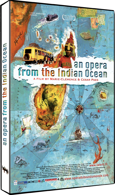 An Opera from the Indian Ocean DVD case