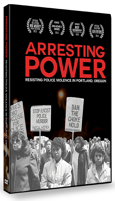 Arresting Power DVD case
